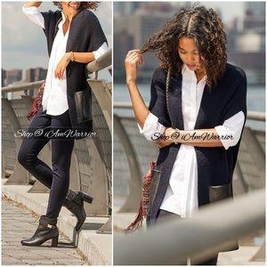 Ann Taylor NWT long sleeveless cardigan vest